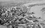 Flooding from the 1938 New England hurricane. Credit: National Oceanic and Atmospheric Administration